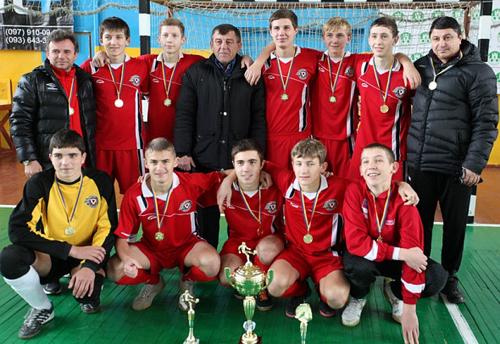 Ураган-КФВ став чемпіоном України U-17