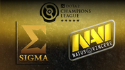 D2CL: Natus Vincere проигрывают Sigma + ВИДЕО