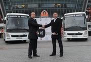 Шахтер получил два новых автобуса