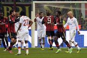 Милан и Рома разошлись боевой ничьей