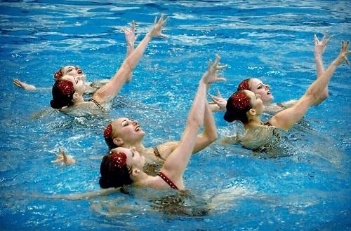 Сборная Украины выиграла чемпионат по синхронному плаванию