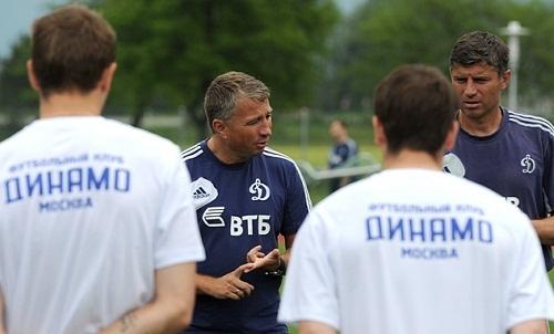 Динамо М определилось со спаррингами на первом сборе