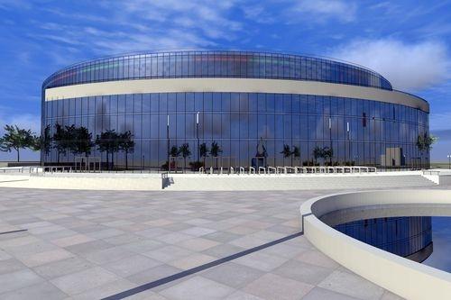 Строительство арены к Евробаскету в Одессе продолжается
