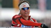 Эмиль Свендсен - победитель гонки преследования