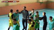 Видеофутзал: обзор матча Енакиевец – Спортлидер+