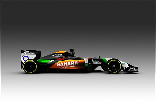 Force India представила дизайн новой машины