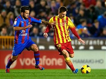Леванте - Барселона - 1:4. LIVE!