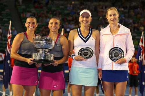 Пара Эррани/Винчи выиграла Australian Open