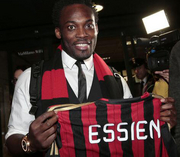 Эссьен не смог пройти медосмотр в Милане