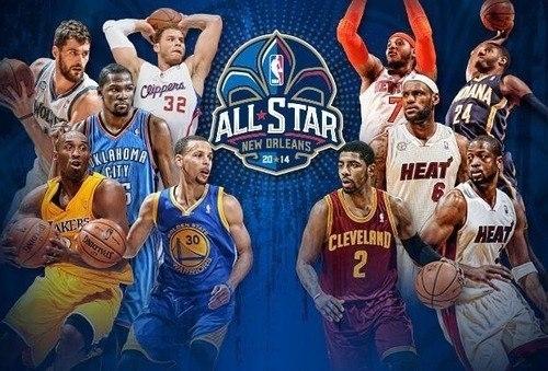 Определены стартовые составы на Матч звезд НБА-2014