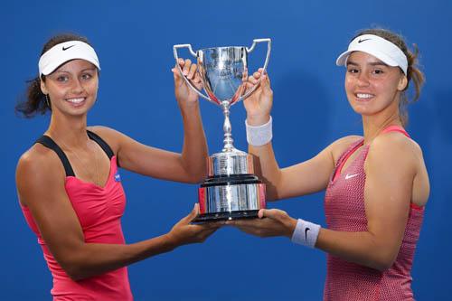 Украинка Калинина выигрывает юниорский Australian Open
