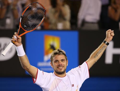 Станислас Вавринка выигрывает финал Australian Open у Надаля
