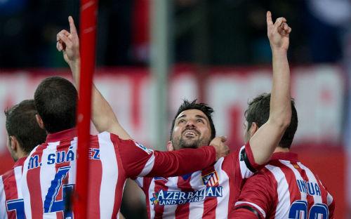 Атлетико становится единоличным лидером Примеры