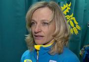 Валентина Шевченко - знаменосец сборной Украины на ОИ в Сочи