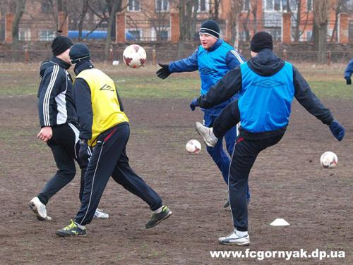 Горняк начал подготовку ко второй части сезона
