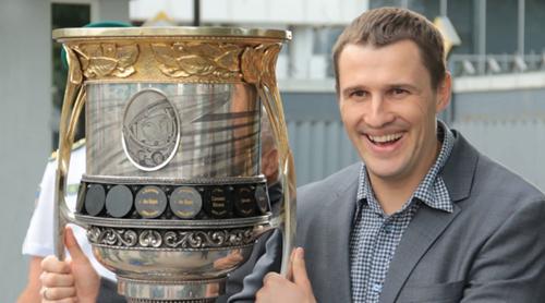 Константин Касянчук - лучший хоккеист Украины 2013 года