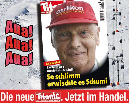 Немецкий журнал неудачно подшутил над Михаэлем Шумахером