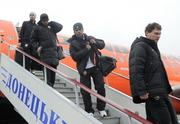 Шахтер приземлился в Донецке