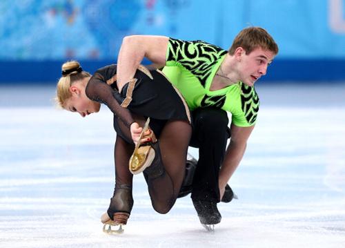 Сочи-2014. Наша пара - девятая в командных соревнованиях