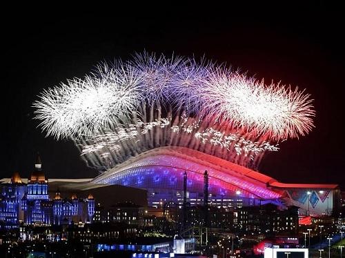 Олимпийские Игры официально открыты!