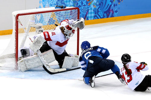 Сочи-2014. Женский хоккей. Финляндия переигрывает Швейцарию