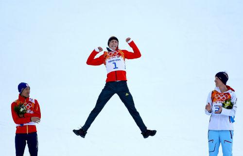 Эрик Френцель – олимпийский чемпион в лыжном двоеборье!