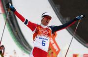 Норвежец Йорген Граабак выигрывает лыжное двоеборье!