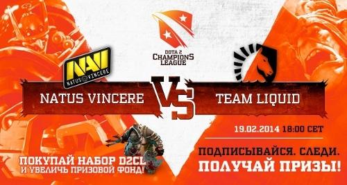D2CL: Natus Vincere высушили Team Liquid