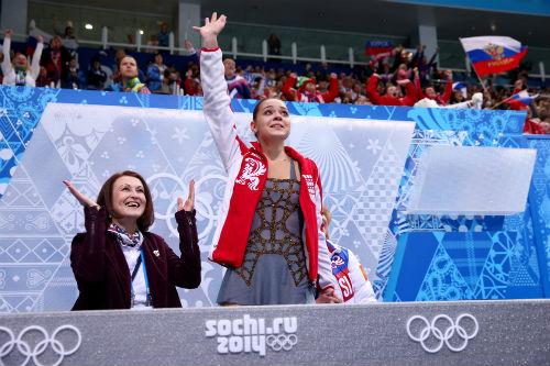 Россиянка Аделина Сотникова - олимпийская чемпионка!