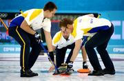 Олимпийская бронза в керлинге достается Швеции!