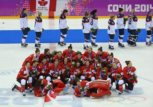 Женская сборная Канады выиграла золото Олимпиады