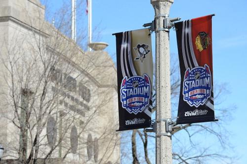 НХЛ. Стадионная Серия-2014 завершится в Чикаго
