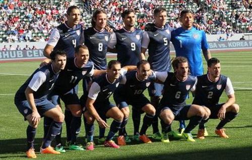 США огласила состав на матч с Украиной