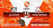 D2CL: The Alliance против Team Empire