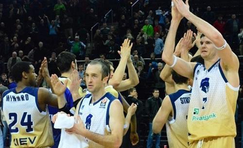 Будивельник – в четвертьфинале Еврокубка