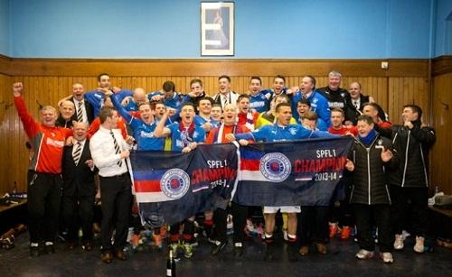 Глазго Рейнджерс досрочно выиграл третий дивизион Шотландии