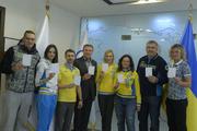 Украинские олимпийцы призвали к миру