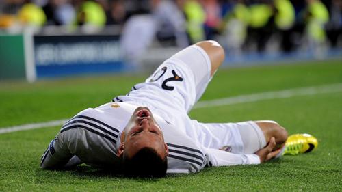 Хесе Родригес получил разрыв крестообразных связок колена