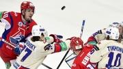 Локомотив выходит вперед в серии против СКА