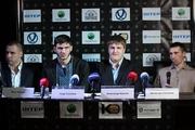 Сенченко, Бурсак и Саламов провели пресс-конференцию в Киеве