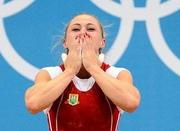 Юлия Калина - чемпионка Европы по тяжелой атлетике