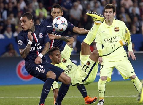 ПСЖ – Барселона – 1:3. Видеообзор игры