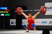 Олег Прошак — чемпион Европы по тяжелой атлетике