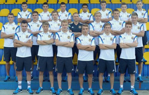 Юношеская сборная Головко готовится к элит-раунду