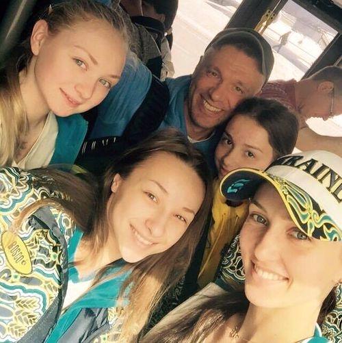 Сборная Украины вылетела в Минск на чемпионат Европы