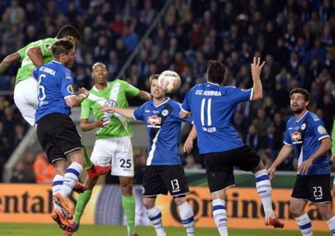 Арминия – Вольфсбург – 0:4. Видеообзор игры