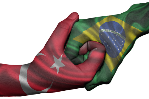 Турция - Бразилия. Онлайн