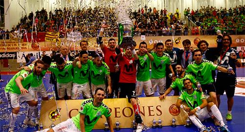 Copa del Rey: Интер Мовистар берет первый трофей в сезоне