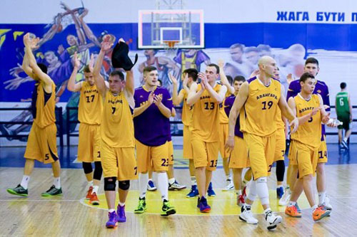 Авангард завоевал золотые медали Высшей лиги по баскетболу