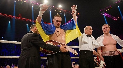 Александр Усик поднялся на 14-е место в рейтинге WBC